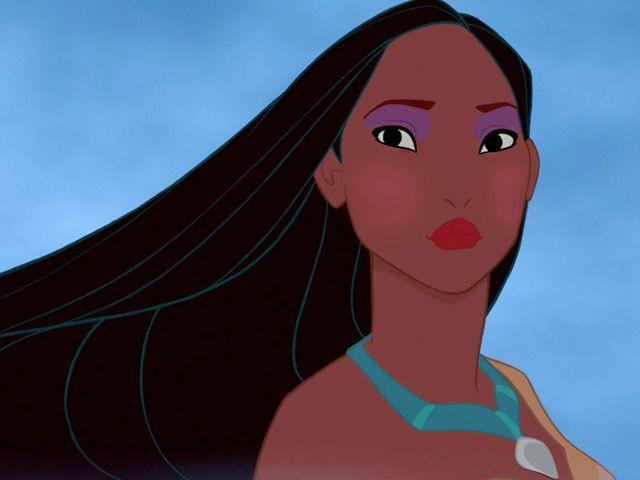 Le più belle dei cartoon Pocahontas --- Questo classico Disney datato 1995 è ispirato alla vera storia di Pocahontas, nativa americana che sposò un inglese, divenendo una celebrità nella Londra dell'inizio del '600. La Pocahontas della versione animata ha un fascino etnico molto contemporaneo: lunghissimi capelli corvini perfettamente lisci e ovviamente al riparo da doppie punte, pelle ambrata e occhi a mandorla, esaltati da una dose abbondante di kajal nero.