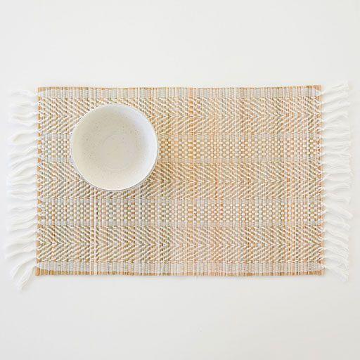 Imagem de produto Toalha de mesa individual de espiga e franjas