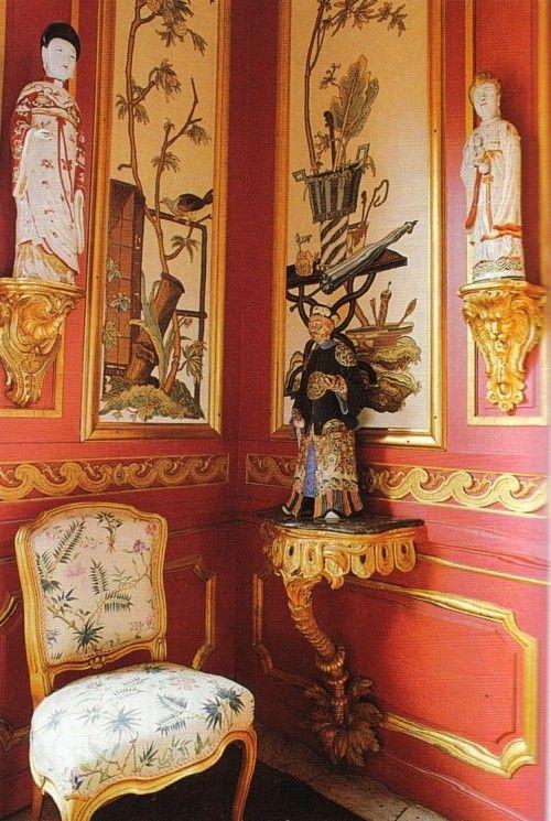 Chinese Pavilion at Drottingholm Sweden (via World of Interiors)