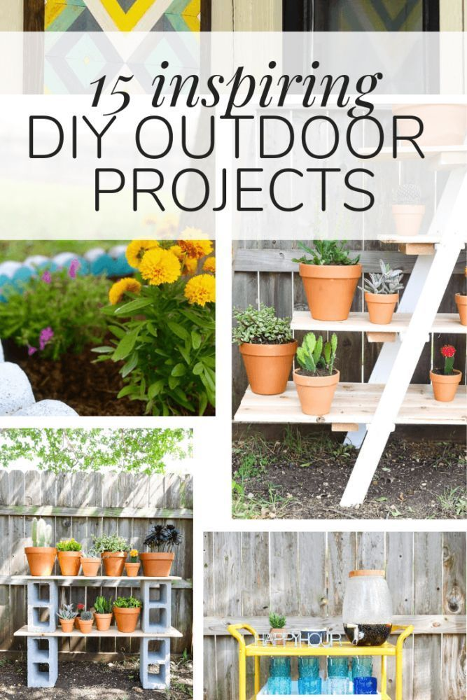 Ideas For Easy Diy Outdoor Projects To