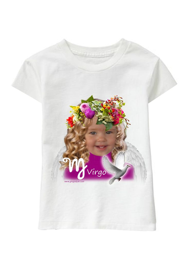Virgo Girl personalized T-shirt www.ghigostyle.com
