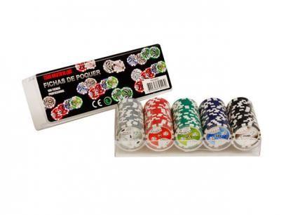 Jogo de Poker Profissional 100 Fichas - Incasa FN0003 com as melhores condições você encontra no Magazine Raimundogarcia. Confira!