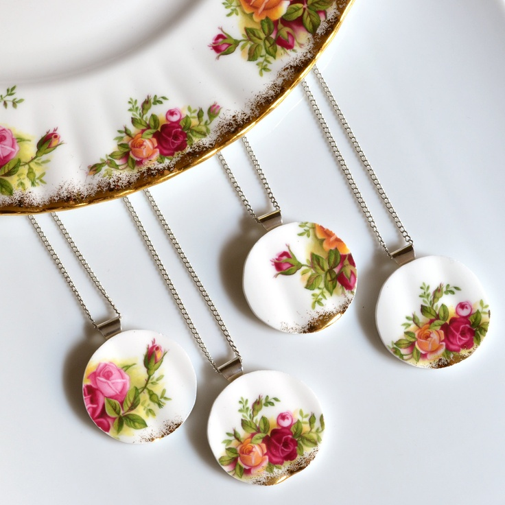 how to break plates for jewelry