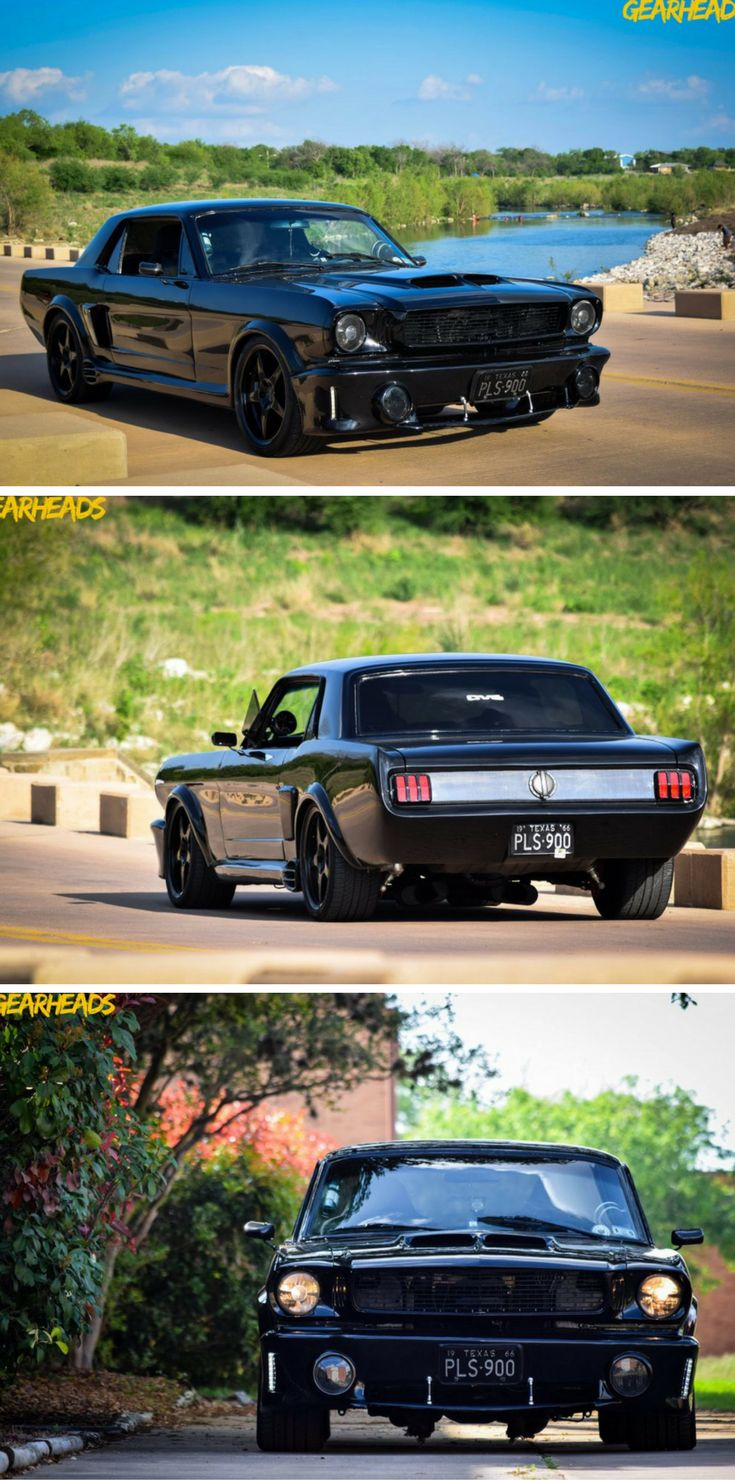 This 1966 Ford Mustang Restomod is Sexy in Black