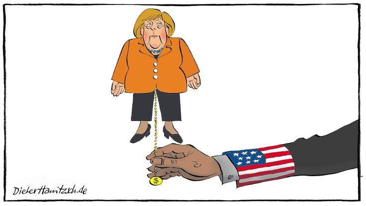 Merkels Regierungserklärung zum Freihandelsabkommen TTIP