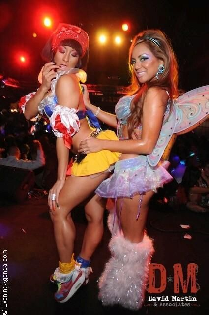 Snow White and Fairy rave outfits