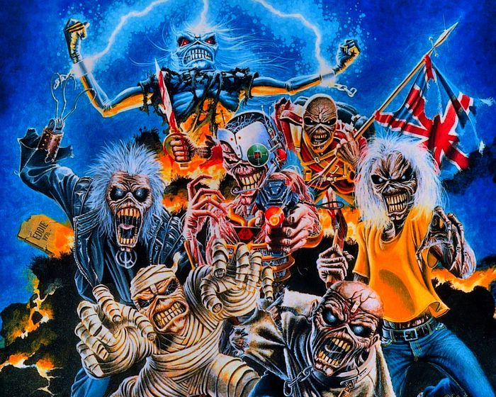 Heavy Metal and Gothic Art - Iron Maiden Album Cover Art ...