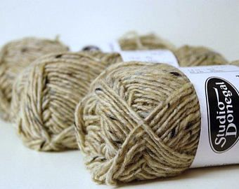 Check out OATMEAL 4585 ~ Traditional Irish WOOL Tweed ~ Aran on appleoakfibreworks