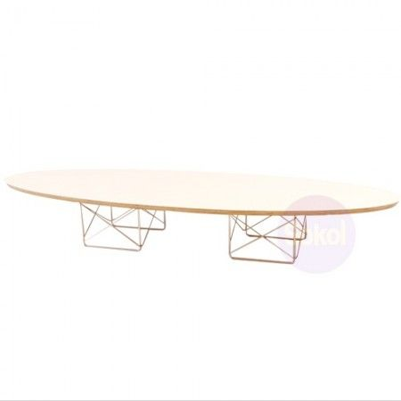 Replica Eames Elliptical Coffee Table