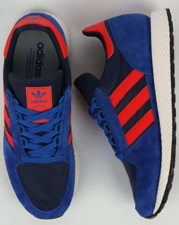 Adidas Forest Grove Trainers Power Blue