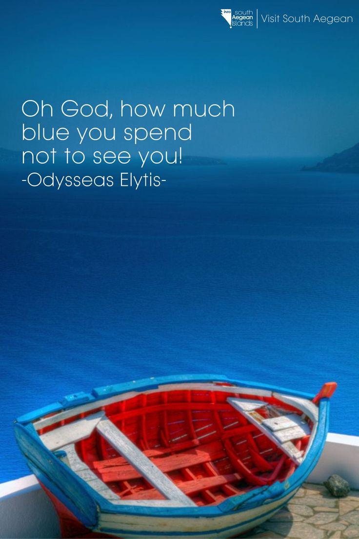 Odysseas Elytis #greece #south_aegean