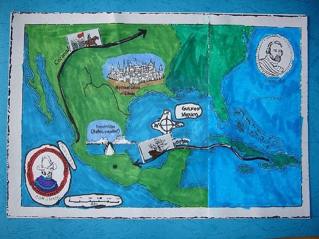 Parasta Kuvaa Pinterestissä Early American Explorers - Map of us explorers coronado la salle