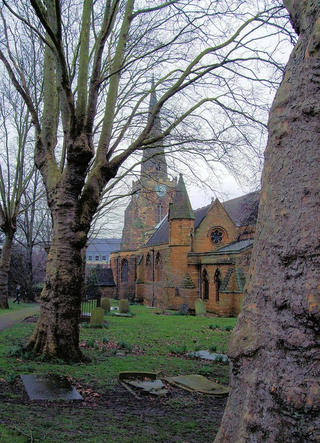The Holy Sepulchre is a Norman round church in Sheep Street,  Northampton, England