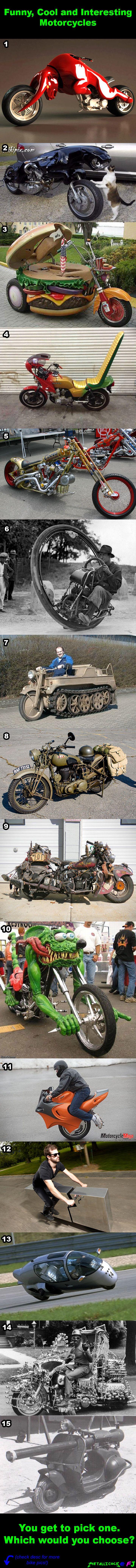 Cool, Funny and Interesting Bike comp.