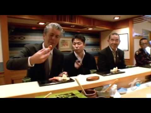 for the sushi fanatic...the best sushi you will ever have.  In Tokyo, Japan  Sukiyabashi Jiro 3-Star Sushi restaurant