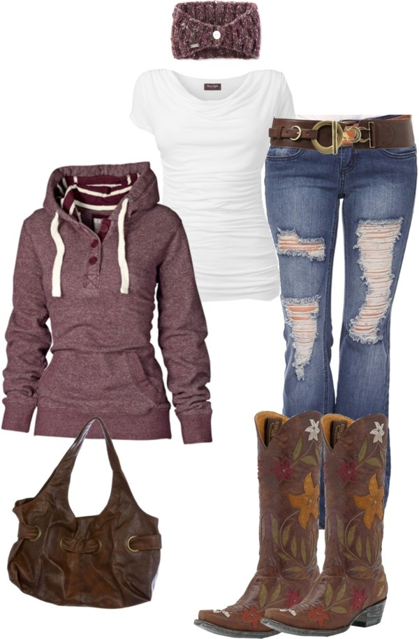 1000  ideas about Cowgirl Outfits on Pinterest | Country fashion ...