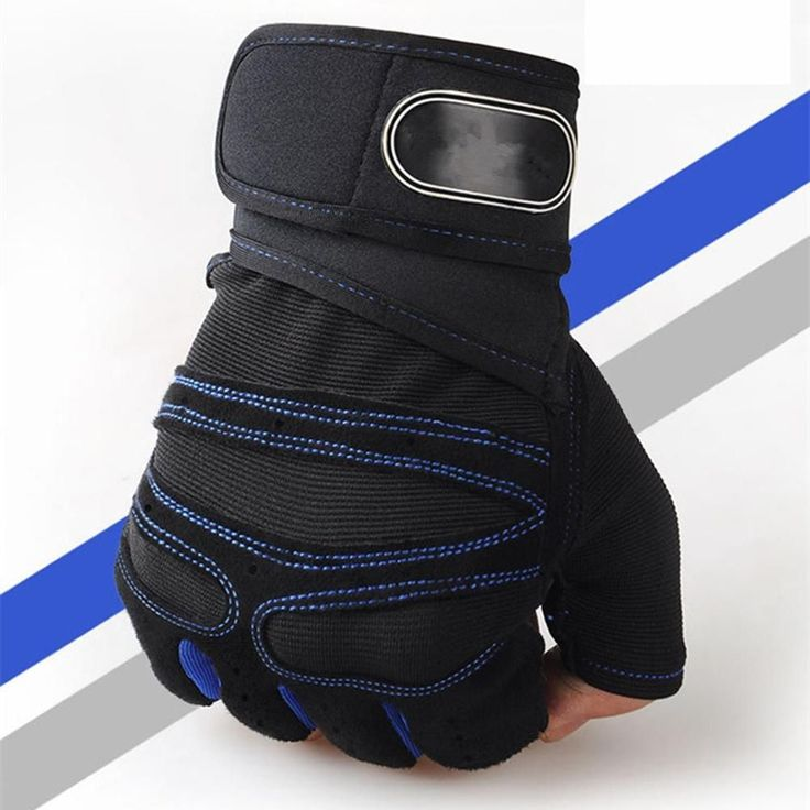 Men Women Gym Gloves Training Workout Weight Lifting Glove Half Finger