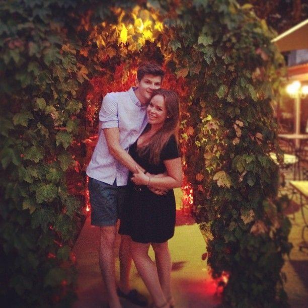 Tanya Burr and Jim Chapman (Tanya's instagram)