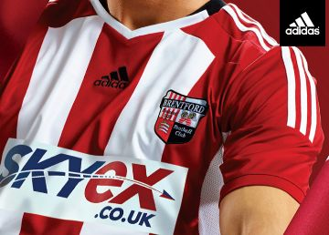Brentford FC 2014/15 adidas Home Kit