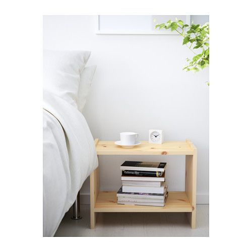 $15 - RAST Nightstand IKEA Made of solid wood, which is a durable and warm natural material.