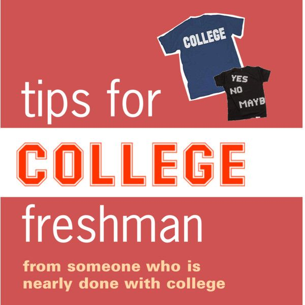 """""""tips for college freshman"""" by kneesock on Polyvore"""