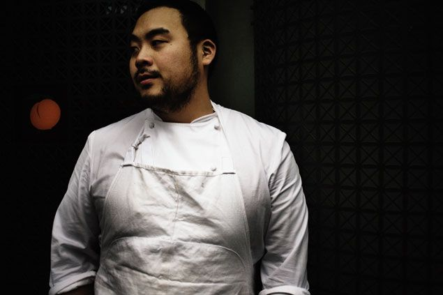 The celebrity chef talks about his love of spinach dip, his dislike of Dan Snyder, and the new space (his biggest yet). Momofuko opening spring 2015
