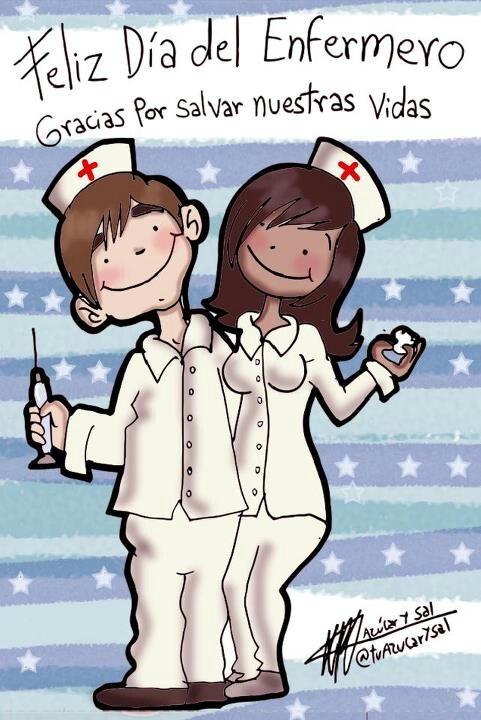 Feliz dia del enfermero.