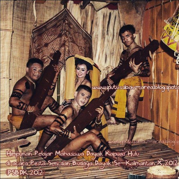 A Dayak Kayaan Traditional Dance