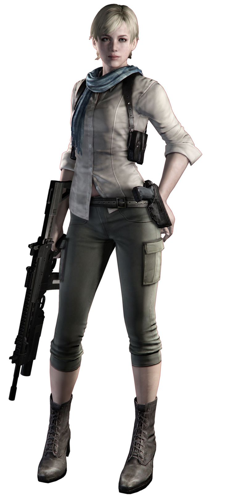 Sherry Birkin - Resident Evil 6. Her and Jakes campaign was my favourite section of the game!