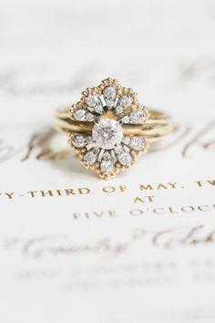 Vintage wedding #ring.
