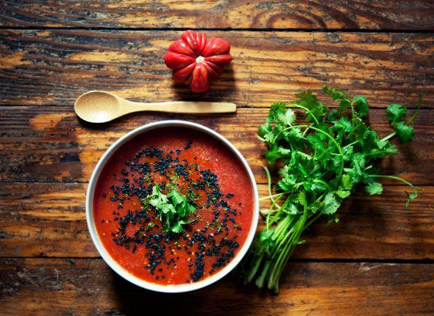 looks unbelievable RAW VEGAN soup