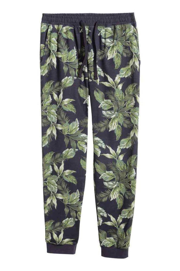 Wzorzyste spodnie od piżamy   H&M 12/08/15