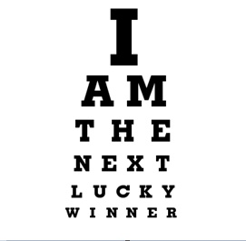 YES I Am the next lucky winnerCustom Eye, Gift Ideas, Snellen Eye, Eye Charts, Smart Ideas, Classroom Ideas, Charts Maker, I Am, Spaces Above