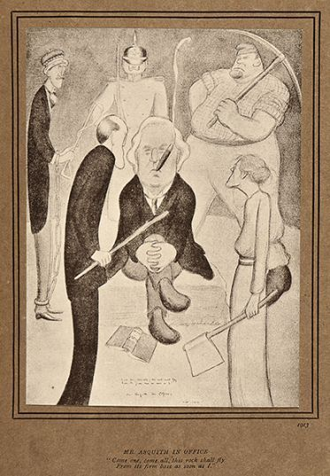 Only £150 for this collection of Fifty Caricatures by Max Beerbohm - including Churchill, Bernard Shaw, Thomas Hardy, Lloyd George, and Roger Fry.