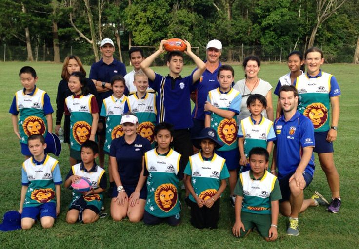 CaLD Program final week at #NambourSS   Multicultural students had the opportunity to learn and play #AFL over seven weeks both on the field and in the classroom.