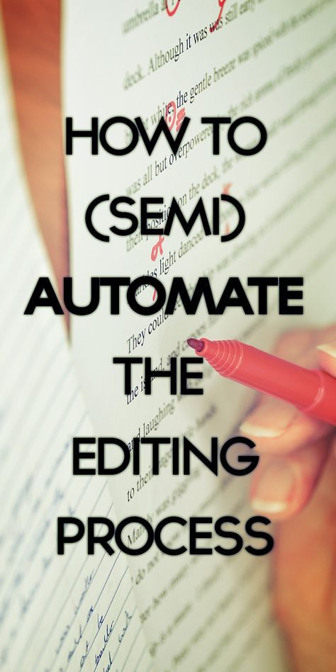 Writing and editing go hand in hand, and here are some quick-tips to speed the editing process and make your writing better�in just 5 minutes a day.