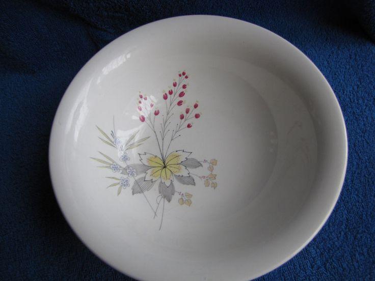 Sweden Rorstrand LiLi soup plate kitchen decor White Scandinavia style  pottery #Rorstrand