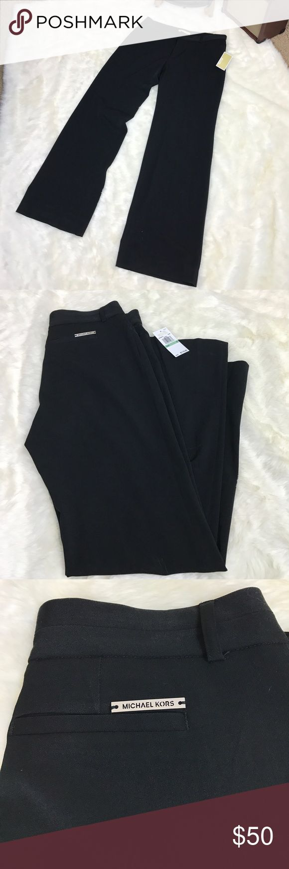 Michael Kors Dress Pants Please feel free to ask any questions, bundle, or make an offer. Michael Kors black dress pants. Women's size 8. New with tags. MICHAEL Michael Kors Pants