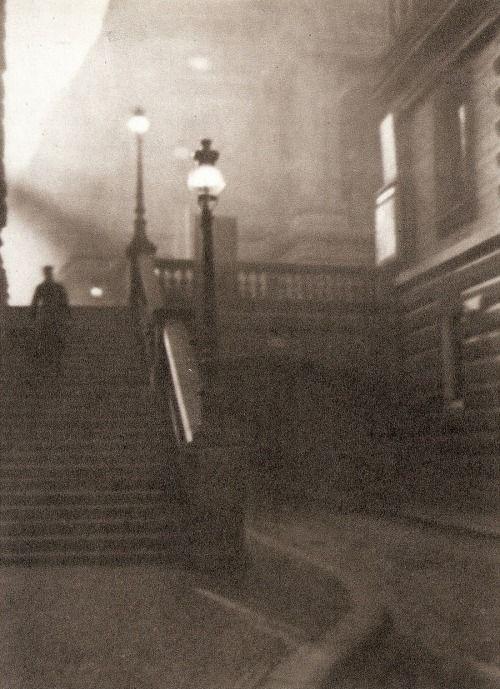 Jan Lauschmann, Stairs near National Theatre, Prague