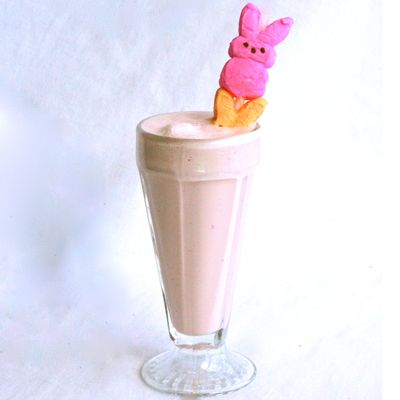 Peeps are everywhere this time of year, so why not add a few to our classic milkshake recipe? #Easter