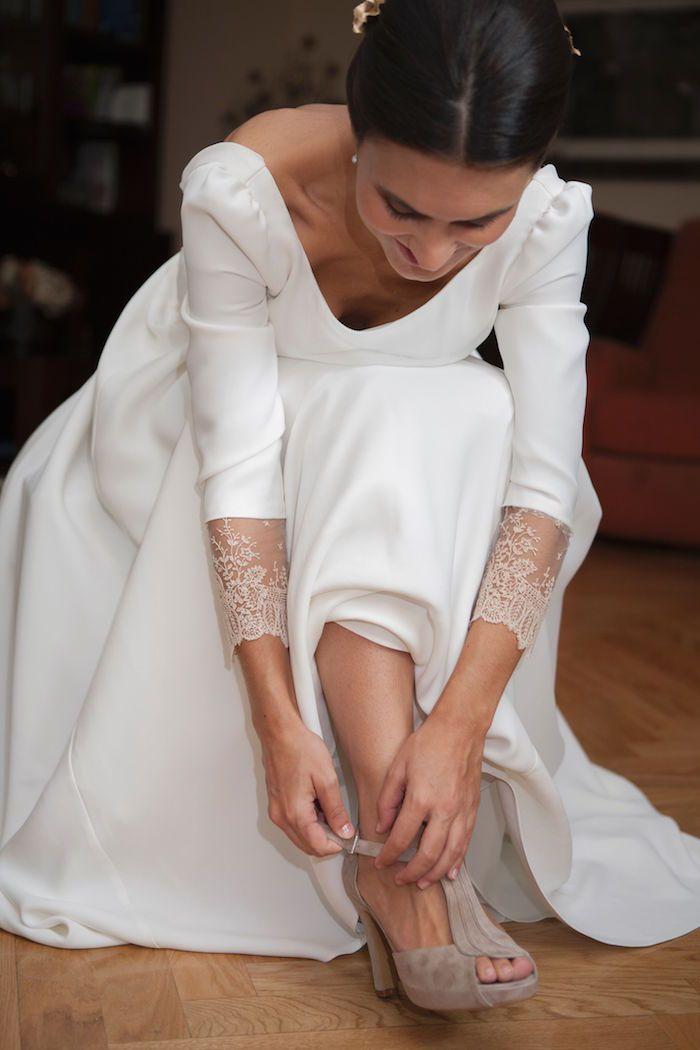 La boda de Sara en el palacio de Aldovea | Sole Alonso