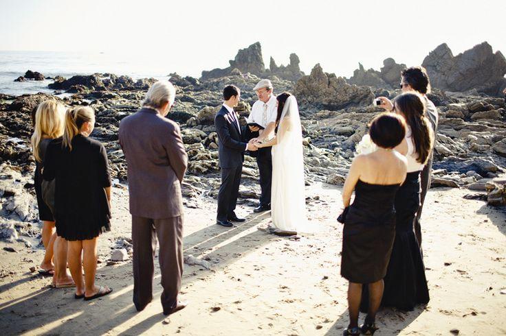 Small beach wedding - this looks amazing!