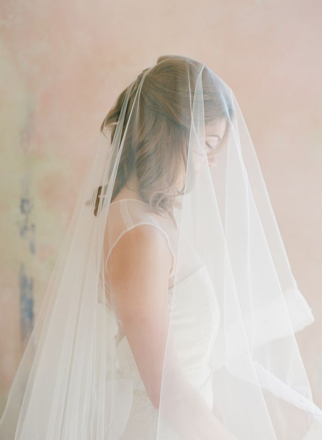 drop veil from Chaviano Couture / Melissa Schollaert Photography