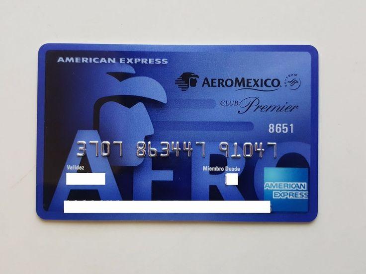 AEROMEXICO Club Premier Blue   American Express Mexico