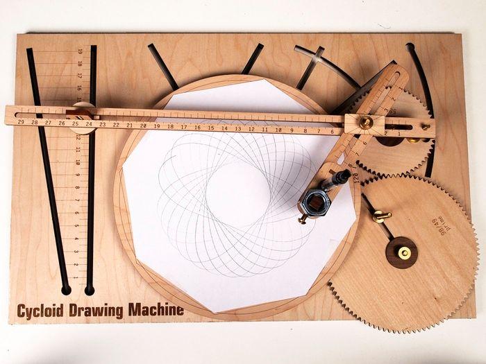 KrazyDad » Blog Archive » Cycloid Drawing Machine Simulation