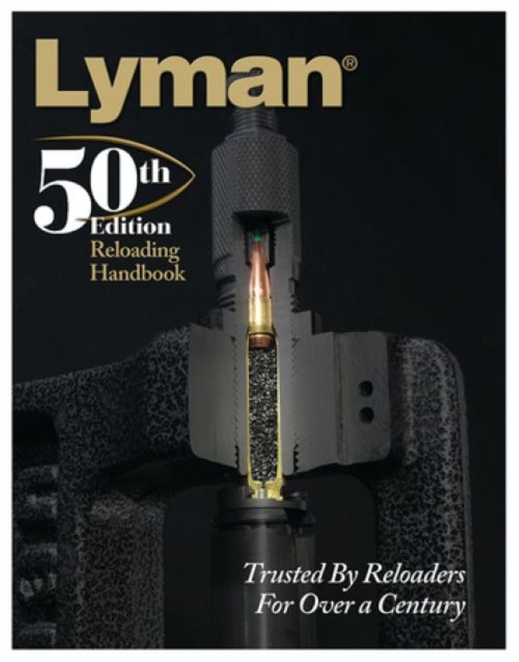 New Lyman 50Th Edition Reloading Handbook Softcover Version #Lyman