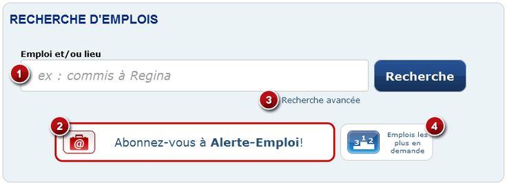 Guichet emplois - Recherche d'emploi