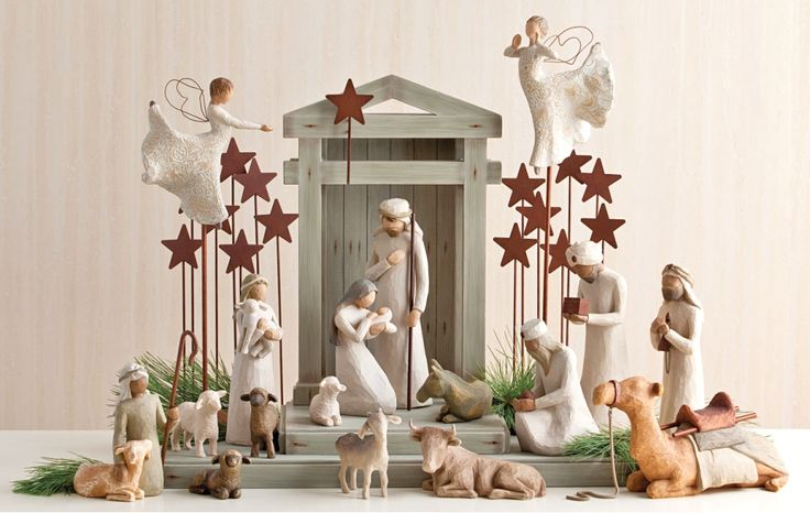 The Willow Tree Nativity scene has to be one of, if not my absolute, favorites.