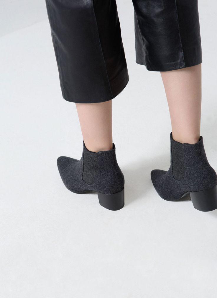 Uterqüe España Product Page - Calzado - Ver todos - Botín tejido - 89