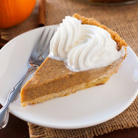 The crust for this Paleo pumpkin pie is super easy to make and involves only a few ingredients.